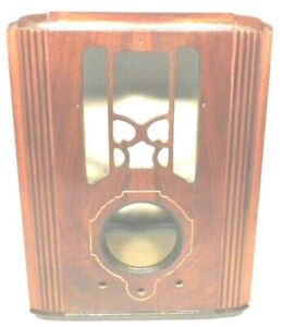 vintage ZENITH 4-B-13 / ch 5406 part:  WOOD SHELL