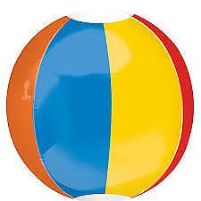 Amscan Beach Ball Orbz Foil Balloon 38cm X 40cm