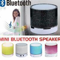 Tragbarer Mini-Bluetooth-Lautsprecher mit USB-LED-Licht Musikbox-Subwoofer F4P3