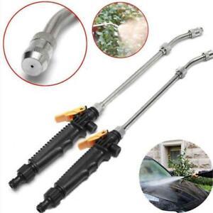 High Pressure Hose Pipe Nozzle Jet Water Lance Garden Car Washer Spray Gun Power