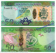 SOLOMON SALOMON ISLANDS 50 dollars 2013 Hybrid Pick 35 -  UNC