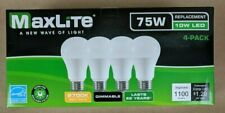 20 Bulbs LED 10W Soft White 2700K A19 75W Replacement by Maxlite Dimmable Pack