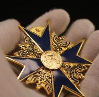 Hoher Orden vom Schwarzen Adler German Medal Black Eagle Badge Replica