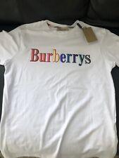 Burberry T Shirt Weiss  L Neu Original