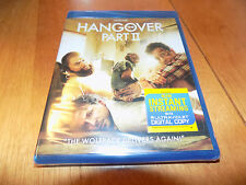 THE HANGOVER Part 2 II Ken Jeong Bradley Cooper Comedy BRAND NEW BLU RAY DISC