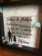 Special Box Frame gift for parents,grandparents,godparents or friends