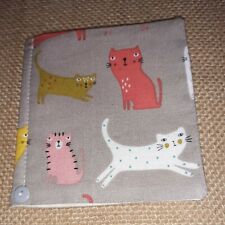 Handmade Pin Cushion /Needle Case To Match  (cats)