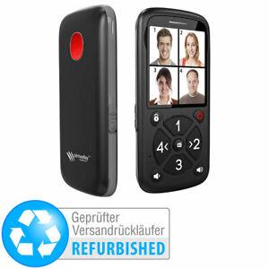 simvalley 5-Tasten-Senioren- & Kinder-Handy mit Garantruf (Versandrückläufer)
