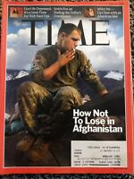 Time Magazine April 20 2009 HOW TO LOSE IN AFGHANISTAN; Web Start-Ups; Miley Inc