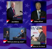2020 Joe Biden Stocking Stuffer Political Trading Card Bundle 46th US President