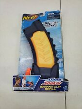 Nerf Super Soaker Banana Clip Refill 20oz Capacity Water 2011 Hasbro