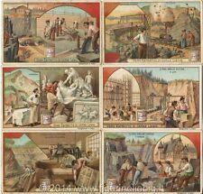 Chromo Liebig Sang. 745 ITA L'Uso delle Pietre ANNO 1903