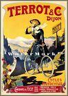 Cycles Terrot 1905 French Premier Prix Vintage Poster Print Retro Style Decor