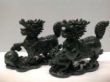 Feng Shui- Jade Dragon Duo (A set of 2)