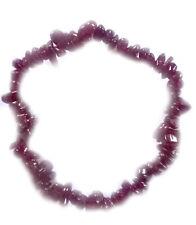 Granat Splitterarmband - Edelstein Granat Armband