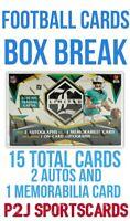 2020 PANINI LIMITED FOOTBALL CARD HOBBY Box BREAK 1 RANDOM TEAM NFL Break 4473