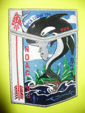 OA Orca Lodge 194,1998 NOAC,Killer Whale W/Shark In Mouth,Two Part St,262,537,CA