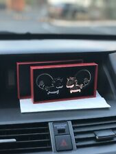 valentines day gifts/Sweet Kiss Magnet Couple Key Chains/Unicorn/Black/Rose-gold