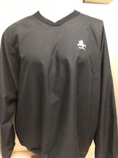 Mens North End Black Pullover Long Sleeve Shirt Size Large