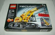 Lego Technic 9391 Crawler Crane Bulldozer 2 in 1 New Sealed