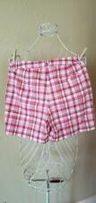 NWOT Jones New York Signature Petites Stretch Walking Shorts Size 4 pink white
