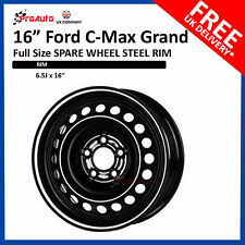 "16"" Ford C-MAX Grand  2010-2017 FULL SIZE STEEL SPARE WHEEL STEEL RIM"