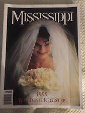 Mississippi 1999 Wedding Registry Magazine