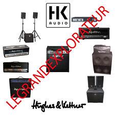 Ultimate HK Audio, Hughes & Kettner User Repair Service Manuals & Schematics DVD
