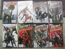 SECRET INVASION : COMPLETE 8 ISSUE 2008 Marvel SERIES by BENDIS, YU & MORALES