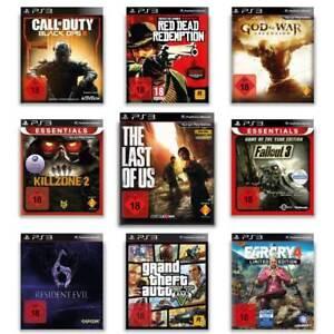 Playstation 3 Spiele - AUSWAHL - The Last of us - GTA - God of War - Mafia - PS3