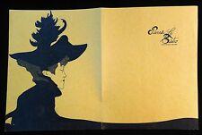 Pierre's Le Bistro Menu, Scottsdale AZ - Lautrec-like Imagery