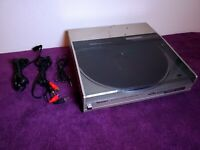 Technics SL-5 Linear Track Turntable Direct Drive Sony Stylus Record Player