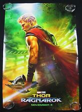 Thor Ragnarok Original Theater Movie Poster One Sheet DS 27x40