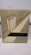 1958 Norwich High School Yearbook - Norwich New York - original hard cover