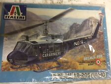 italeri 1/48 AB-205/UH-1D Huey, Eduard PE Set And CMK Engine Set