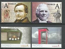˳˳ ҉ ˳˳NO25 Norway Norge Complete sets 2009-00 Different Famous People Cultura