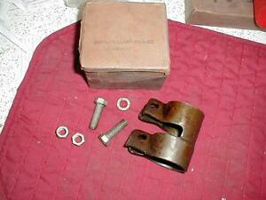 NOS MOPAR EXHAUST CLAMP 1939-41 PLYMOUTH