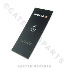 MARCO 1900651 BUTTON LABEL MEMBRANE FASCIA 5L HOT WATER ECO-BOILER T5 PB5 URNS
