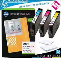 PACK TINTA 903XL ORIGINAL IMPRESORAS HP CARTUCHO HEWLETT PACKARD GENUINE 1CC20AE