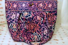 Vera Bradley Large Tote in Katalina Pink Excellent Condition