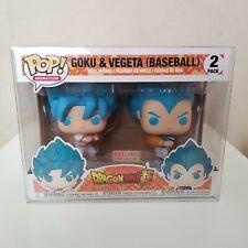 FUNKO POP! Goku & Vegeta Baseball 2-Pack Boxlunch Exclusive w/ Protector
