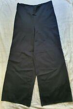 COS High Waist Wide Long! Leg Trousers in Black, Size EU M/12-14 Ponte Career