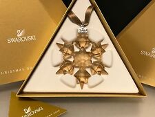 Swarovski Figur ScS Weihnachtsstern 2010 Gold. Mit Ovp & Zertifikat.