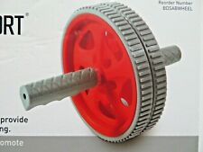 Body Sport Ab Roller Wheel Fitness Workout Core Exercise Abdominal Training, New