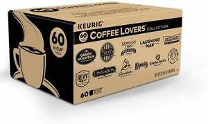 Keurig Coffee Lovers Collection Variety Pack, Coffee K-Cup Pods 60 COUNT 02/2021