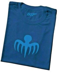 Official James Bond 007 Spectre Logo Blue UNISEX T SHIRT XXLarge New M 46 W18 42