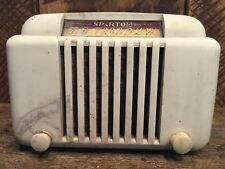 VIntage Sparton Tube Table Top Radio 1940's Art Deco 1950's Mid-Century Modern