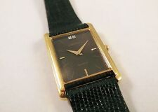 Lassale by Seiko Gold Tone Metal 1F20-1D40 Gemstones Sample Watch NON-WORKING