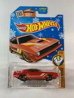 Hot Wheels - Target Snowflake Card - '70 Plymouth AAR Cuda - 2015 1:64 - BOXED