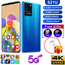 S21U 6.1 inch 8g+256g 5G Dual SIM Card Octa Core Android 10 Smart Mobile Phone